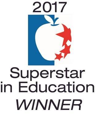 Superstar in Education Winner!